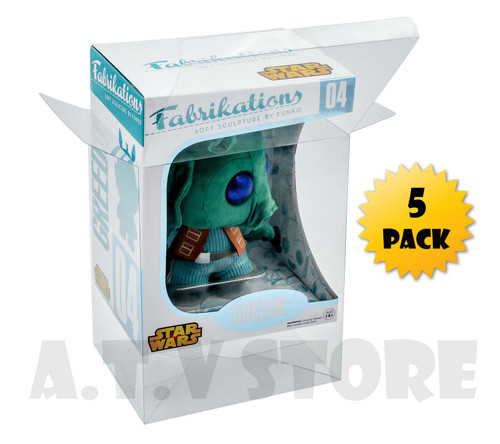 ATV Funko Fabrikations Vinyl Protector / Case (Pack of 5)