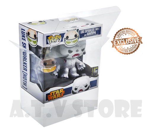 ATV Luke Skywalker & Wampa (Hoth) Pop Protector