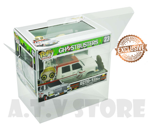 ATV Ecto-1  With Jillian Holtzmann Pop Ride  Protector