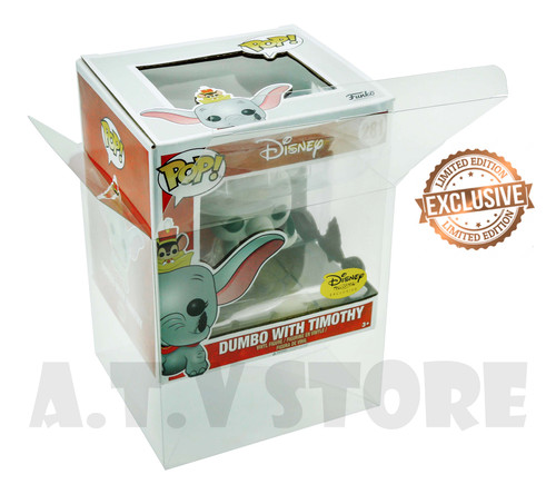 ATV Dumbo With Timothy Funko Pop  Protector