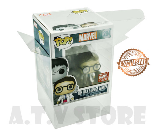 ATV The Hulk &  Bruce Banner  Funko Pop  Protector