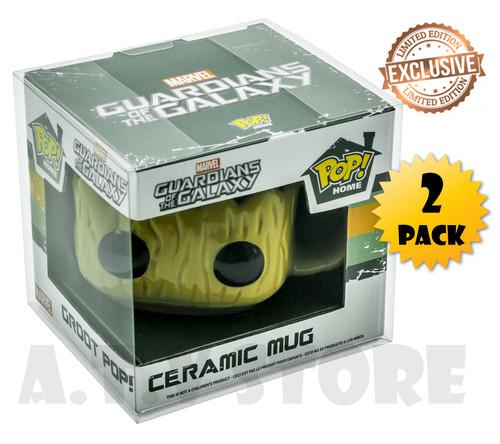ATV Pop Home Ceramic Mug Protectors (x2)