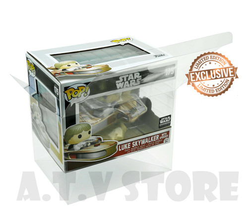 ATV  Luke Skywalker With Speeder Funko Pop Ride  Protector