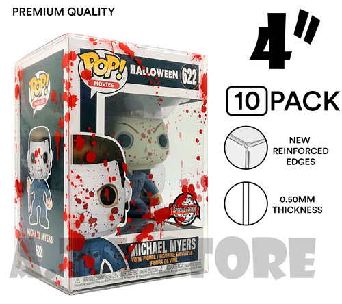 "ATV 4"" Blood Splattered Funko Pop Protectors - [Pack of 10]"