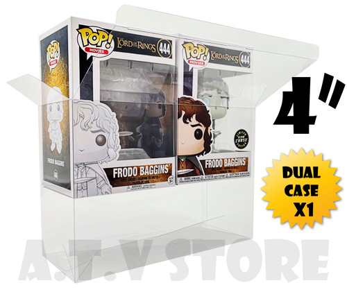 "ATV Dual 4"" Funko Pop Protector/Case"