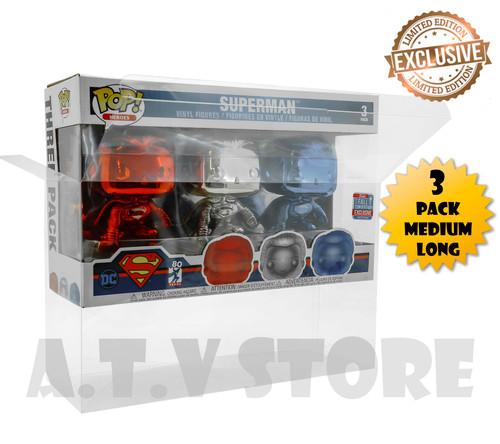 ATV 3 Pack Medium Long Protector Case