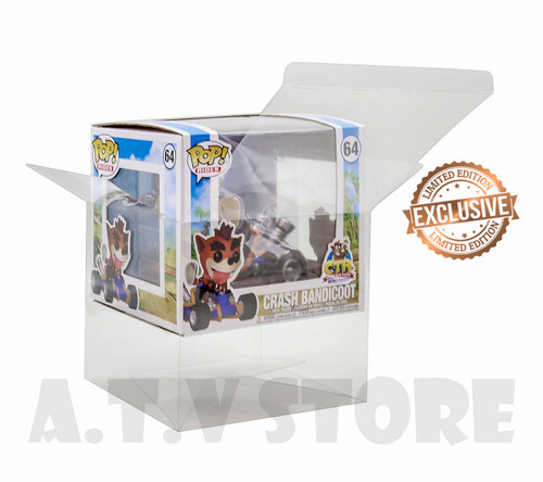 ATV  Crash Bandicoot Funko Pop Ride Protector