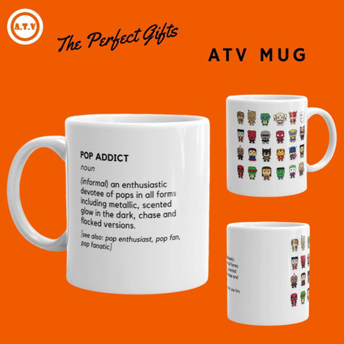 ATV Pop Addict Mug