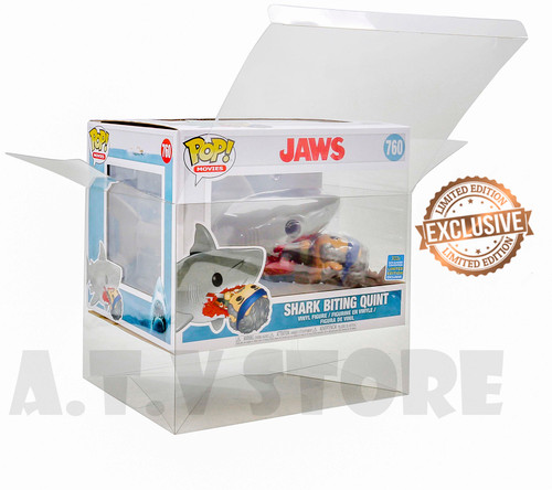 ATV Jaws - Shark Biting Quint SDCC 2019  Funko Pop Protector