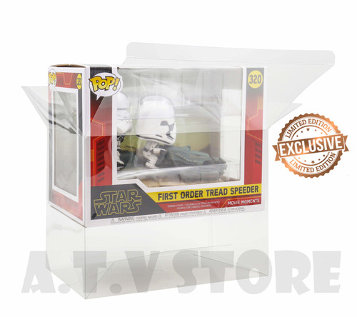 ATV First Order Tread Speeder Funko Pop Protector