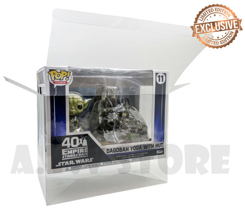 ATV Yoda & Hut Pop House Funko Pop Protector