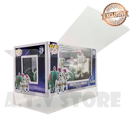 ATV Cinderella Carriage Funko Pop Ride Protector