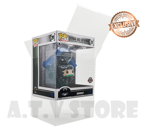 ATV Batman & Catwoman  Moment Pop Protector