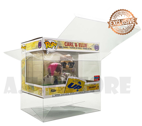 Carl & Ellie Funko Pop Protector