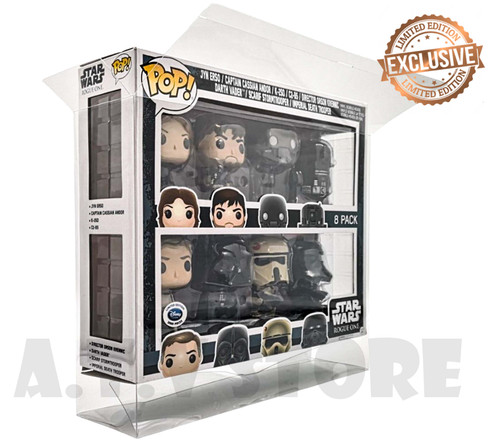 8 Pack Funko Pop Protector