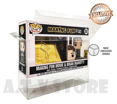 ATV Movie & Brian Mariotti Funko Pop Protector