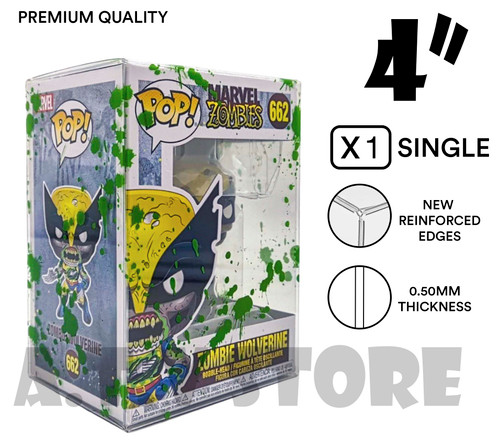 "ATV 4"" Green Blood Splattered Funko Pop Protector - SINGLE"