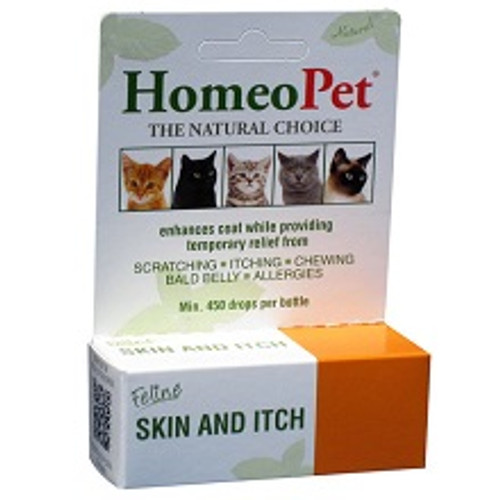 Homeopet Feline Skin and Itch - 15 ml