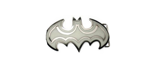 """GLOW IN THE DARK  Batman belt buckle"