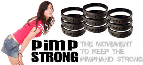 Pimp strong wristband- SOLD OUT