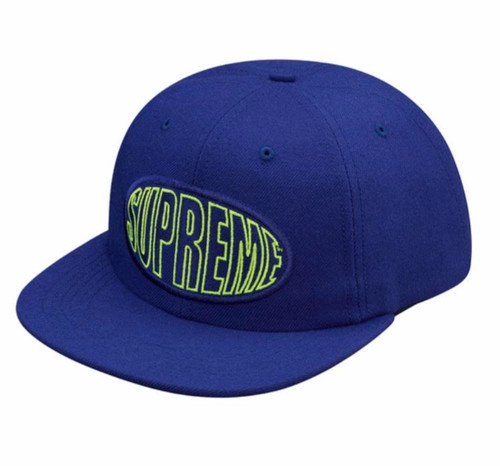 Supreme Warp 6-Panel BLUE hat Brand New & Rare 100% Authentic!