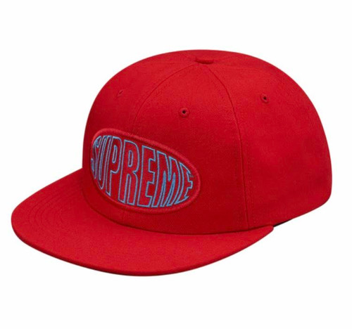 Supreme Warp 6-Panel Red Cap/ Hat  Brand New All tags/ SS17