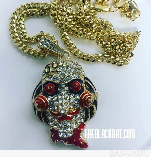 Tekashi 69 Red-eye Pendant- New in Box w/Free gold chain