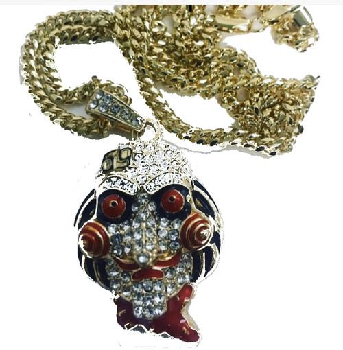 Tekashi 69 Joker Pendant- New in Box w/Free gold chain