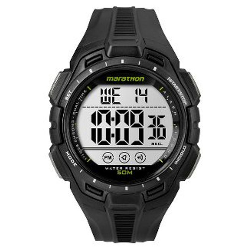 Men's Marathon by Timex Digital Watch - Black  Water Resistant