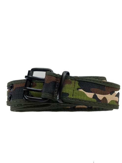 the Camo US Army canvas belt