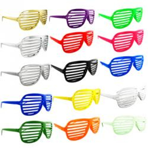 15 pc Shutter Shades Sunglasses Combo