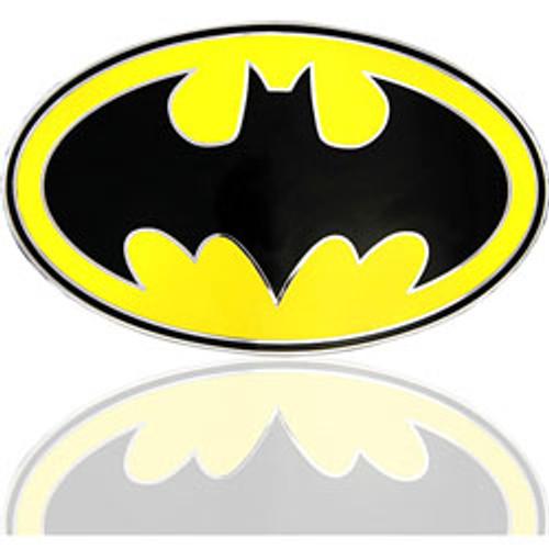 DC COMICS Batman black and yellow LICENCED Belt Buckle