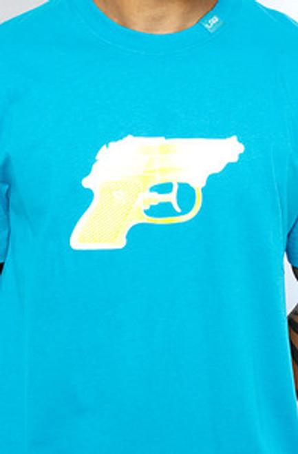 LRG Gun Blue WaterPistol | T-Shirt  XL Only!!  Limited!