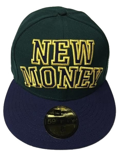 New Money Rocksmith Cap green Sz8