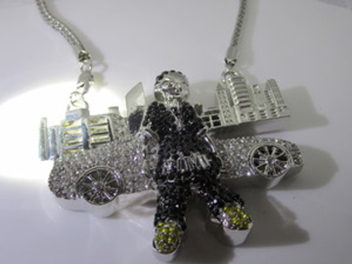 Boondocks Empire Skyline Iced Out Pendant #2
