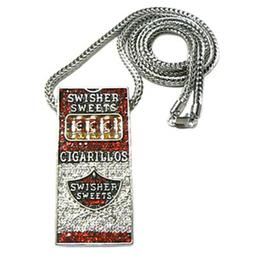 """ICED OUT SWISHER SWEETS NEW SLIM PIECE & FRANCO CHAIN"