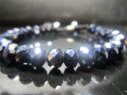 """NEW SHAMBHALA  BLUE DIAMOND Macrame Beaded bracelet"