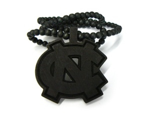 """CN-Black Good Wooden Pendant w/ FREE  36""Bead chain"