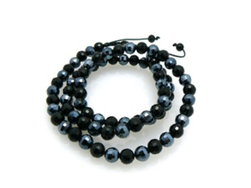 """BLACK & BLUE Shambhala Chain 36""-SALE"