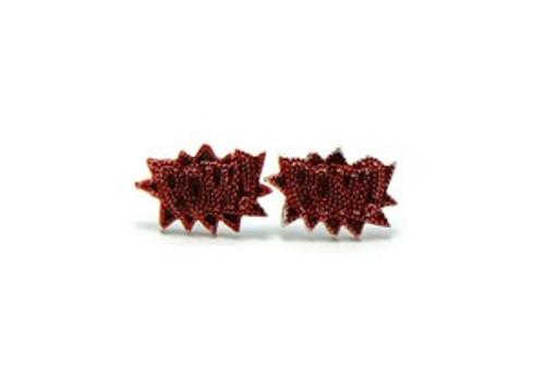 """""""NEW POW-RED Earrings"""