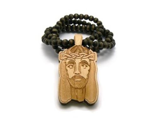 """Jesus GOODWOOD-natural wood"