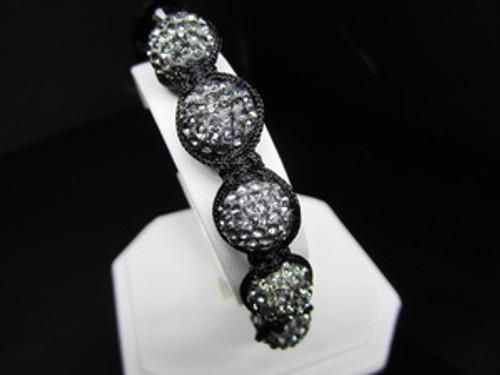 """""""1-GOTHAM BLACK DIAMOND Shambhala Bracelet JAY-Z"""