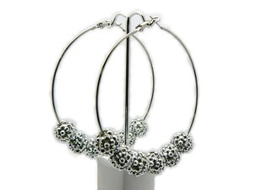 Basketball Wives Earrings-All Silver