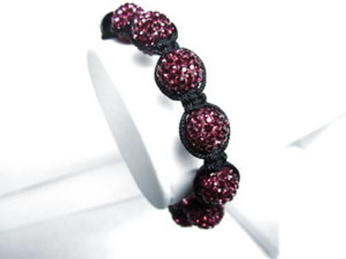 """""""Shambhala Raspberry Color Swarovski Stones"""