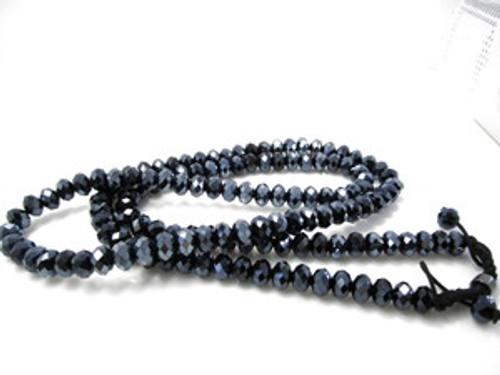 """NEW SHAMBHALA BLUE DIAMOND 36"" Chain"