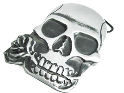 """Skull Belt Buckle w/ hidden back compartment"
