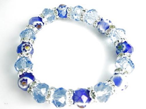 Ice Princess Shambhala Bracelet