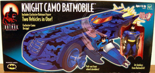 Batman Animated Series The new Adventures KNIGHT CAMO Batmobile!