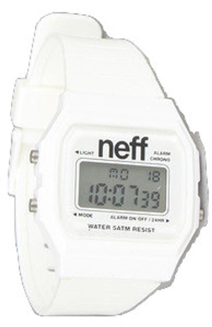 """Neff The Flava Watch in White"