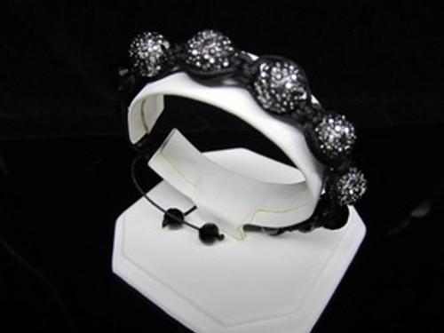 """GOTHAM BLACK DIAMOND WOMAN Shambhala Bracelet-JAY Z"